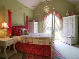 girls bedding and curtains bedroom girls bedroom ideas with canopy bed and bright rug also