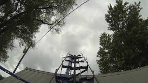 homemade roller coaster blue flash pov in hd youtube