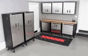 Garage Storage Cabinets Set Of Metal Garage Storage Cabinets Home Interiors