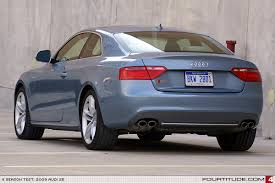 4 season test 2009 audi s5 coupe report 1