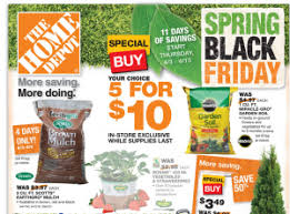 black friday ads home depot pdf spring deals on mulch miracle gro and more at home depot