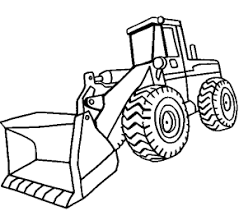 front loader coloring page crafty ideas pinterest clip art