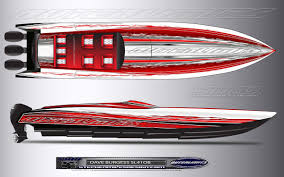 legendarisk 90 knops racer med utombordare båtliv