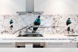 printed u0027images on glass u0027 kitchen splashbacks and glass wall art
