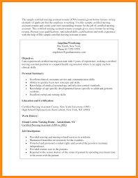 List Of Cna Skills For Resume 100 Sample Cna Resume With Experience Sample Cover Letter For