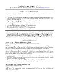 Senior Accountant Resume Sample Resume For Senior Manager Resume For Your Job Application