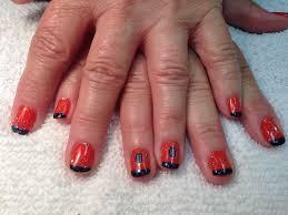 opi detroit tigers fan nail designs pinterest detroit tigers