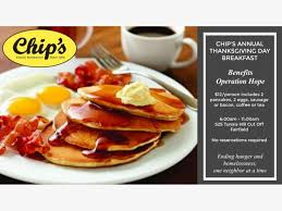 nov 23 chip s thanksgiving day breakfast benefits operation