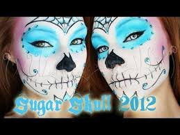 request sugar skull makeup tutorial option one you