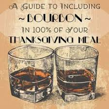 a guide to including bourbon in 100 of your thanksgiving meal