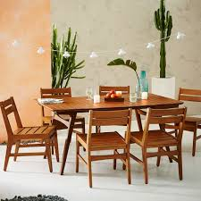 mid century outdoor dining sets auburn west elm