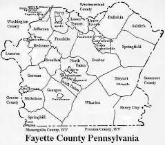 fayette county maps pagenweb fayette county township maps