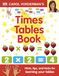 carol vorderman u0027s times tables book made easy amazon co uk