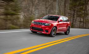 jeep srt modified 2018 jeep grand cherokee trackhawk first drive review car and