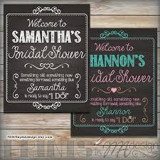 bridal shower signs bridal shower sign personalized bridal shower welcome poster