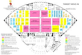 100 sands expo and convention center floor plan show