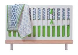 Blue And Green Crib Bedding Sets Gender Neutral Crib Bedding Ideas Reader Q A Cool Mom Picks