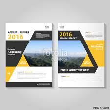 cover layout com blue vector business proposal leaflet brochure flyer template design