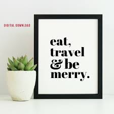 travel merry images Eat travel be merry digital download smitten italy co png