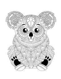 Coloriage Mandala Koala New 45 Ausmalbilder Tiere Koala  Best