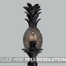 Pineapple Light Fixture Pineapple Outdoor Light Fixtures Hanging Five Light Fixture With