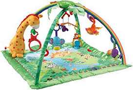 target fisher price gym black friday amazon com fisher price rainforest melodies and lights deluxe