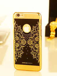 joy room black golden floral prints for iphone6 6s plus u2013 blackvelvett