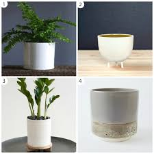planters amazing modern ceramic planter contemporary pots