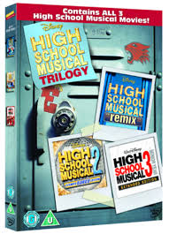 high school high dvd high school musical 1 3 dvd hmv store