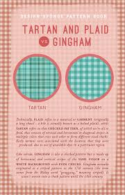plaid vs tartan d s pattern book tartan vs gingham design sponge