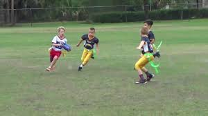Flag Football Equipment Braden Sanders Sick Spin Move Flag Football Youtube