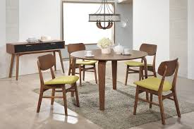 Circle Dining Room Table by Round Dining Table 4 6 Martha Chairs Picket U0026rail Singapore U0027s