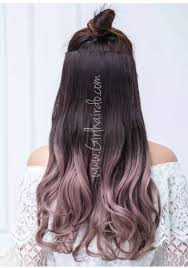ombre hair extensions soft premium quality rosegold ombre hair extensions