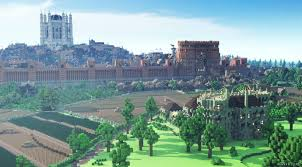 king u0027s landing from u0027game of thrones u0027 minecraft style pictures