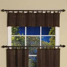 Grommet Top Valances Versailles Home Fashions Bamboo Grommet Top Valance In