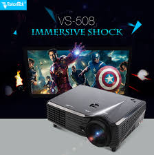 projector home theater vs 508 hd 1080p 3000 lumens 3d digital 3led projector home theater