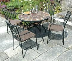 stone outdoor dining table patio furniture set 23893 gallery