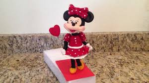 Minnie Mouse Cake Topper Youtube