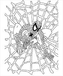 20 Spiderman Coloring Pages Jpg Psd Ai Illustrator Download Web Coloring Pages