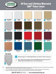 metal carport color charts the carport company