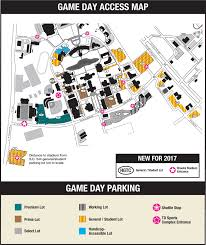 Ball State Parking Map by Goccusports Com Coastal Carolina Official Athletic Site
