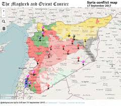 World Map Interactive by Urgent Syria U2013 Interactive Conflict Map 17th Of September 2017
