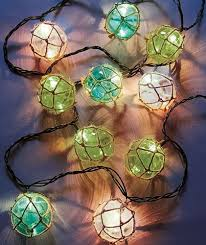 Home Accents Outdoor Christmas Decorations Vintage Float String Lights Sea Beach Theme Patio Porch Deck