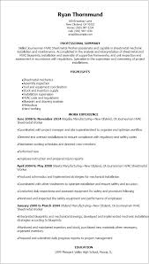 Examples Of Hvac Resumes by Professional Journeymen Hvac Sheetmetal Worker Resume Templates To
