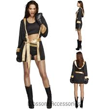boxer costume cl730 fever knockout boxer sports boxing chion fancy