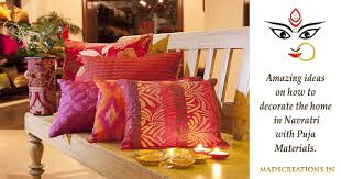 home decoration materials how to decorate home in navratri with puja materials