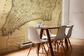 Wall Map Of New York City by 1776 Vintage Map Of New York Vintage Maps Customaps