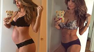Want To Enjoy Post Pregnancy Fit Model Stage Reveals Flat Tummy Post Baby Photo