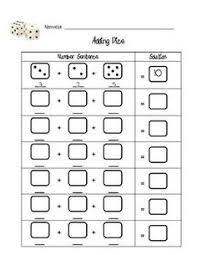 dice addition worksheets sb6050 sparklebox 2nd grade math