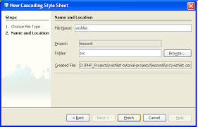 tutorial css php creating a database driven application with php using css classes